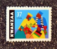 USA2002 #3673 37c Kwanzaa - Single Stamp  Mint  NH  holiday