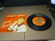 BOBBY RYDELL Swingin' School 175 Cameo Records PICTURE SLEEVE A787 PL