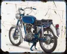 Ducati 175 Americano  2 A4 Photo Print Motorbike Vintage Aged