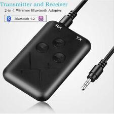 Adaptateur audio stéréo RCA 2 en 1 émetteur-récepteur sans fil Bluetooth 3.5mm