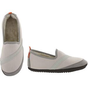 FitKicks KOZIKICKS Active Lifestyle Slippers Indoor/Outdoor for Women, Grey