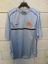 Maillot MANCHESTER UNITED training NIKE football shirt gris jersey XL