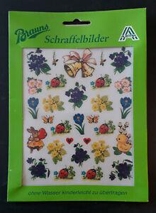 Oster Schraffelbilder, Brauns, Made in Austria, originalverpackt, vintage