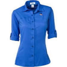 NEW Guy Harvey Women's Back Vent Sport Tech Shirt Size Small $50 Retail