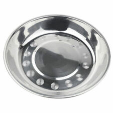 Silver Camping Stainless Steel Tableware Dinner Plate Tool Food Container F5S8
