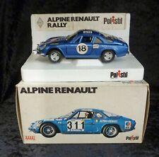 Polistil S21 Alpine Renault Rally Car 1/25 Scale