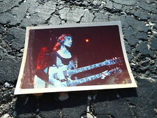 Beatles Paul McCartney w/WINGS Private Snapshot Photo 1976 #1 - Denny Laine