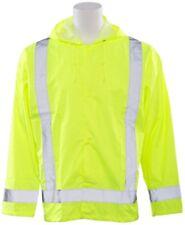 ERB SAFETY S373 61498 5X/6X Lime Rain Jacket  HIVIZ  Class 3 Rated