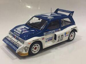 1/18 MG METRO 6R4 LOMBARD RAC RALLY 1985 TONY POND