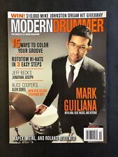 Modern Drummer Magazine November 2014  Mark Guiliana