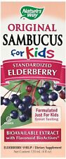 Nature's Way Sambucus for Kids Elderberry Syrup, 4 oz (Pack of 3)