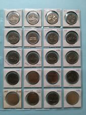 Lot of 20 Different Canadian Nickel Dollar ($1), No Reserve! (Lot #2)