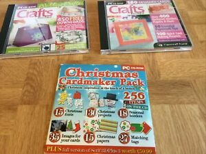 Card making craft cds Set 5