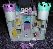 Blue Box Tiny Dreams Fairy Castle Polly Pocket Type Play Set & Box & Accessories