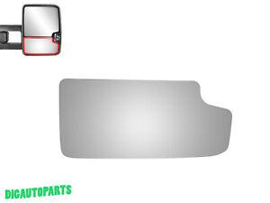 Tow Mirror Glass for GMC Sierra 3500HD 2500HD 1500 Passenger Right Side RH Lower