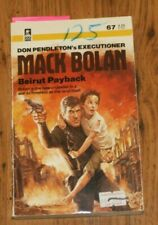 Executioner: Beirut Payback No. 67 by Don Pendleton (1984, Paperback)