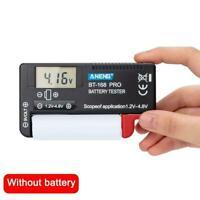 BT168 Smart LCD Digital Battery Testers Electronic Check Battery Measure U V3Q2