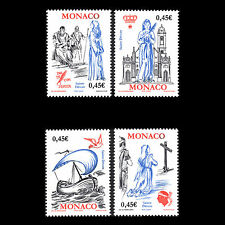 Monaco 2003 - Arrival of the Remains of St. Devote to Monaco - Sc 2308a/d MNH