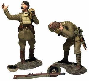 """William Britains World War One """"Gas Lads! Gas"""" British Set 23116"""