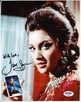 Jane Seymour Psa Dna Coa James Bond Autograph 8x10 Photo Hand Signed