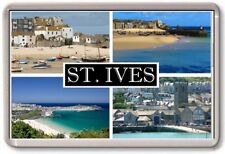 FRIDGE MAGNET - ST IVES - Large - Cornwall TOURIST