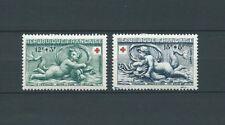 CROIX ROUGE - 1952 YT 937 à 938 - TIMBRES NEUFS*
