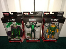 Mysterio Doc Ock Lasher Spider-Man Villians LOT Marvel Legends Hasbro ALL MISP!