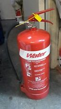 9 LITRE WATER FIRE EXTINGUISHER 9L WAREHOUSE OFFICE WORKSHOP HOME