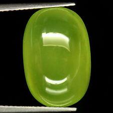 TOP HYDROGROSSULAR GARNET : 15,54 Ct Natürlicher Hydrogrossular Granat Grün