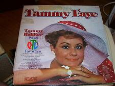 TAMMY FAYE BAKKER SINGS PTL CLUB FAVORITES-LP-NM-PICTURE GATEFOLD OF PTL FAMILY
