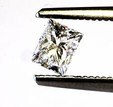 loose GIA certified princess cut .51ct diamond I1 E vintage estate antique