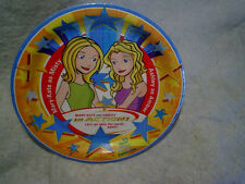 2002 MARY-KATE AND ASHLEY IN ACTION PAPER PLATES Sealed,olsen,misty,amber,tv