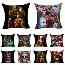 Cartoon Horror Story Throw Pillow Case Sofa Cushion Cover Home Halloween pro *1