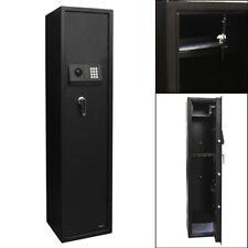 5 Gun Rifle Security Electronic Digital Lock Tall Safe Pistol Storage Cabinet
