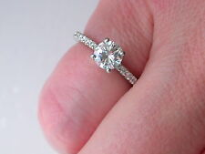 0.50ct Round-Cut Diamond Ring + RRP £2495 + Independent Report + Platinum + FAB!