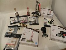 Lot/Set of 9 Nanoblock sets Various Themes Assembled Once 100% Complete