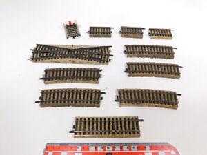 CT132-1# 11x Märklin H0/00/AC Teile Modellgleis 3900 defekt/Bastler