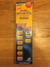 7 - New Unexposed Kodak Advantix Aps Color Film 400 25exp Free Shipping