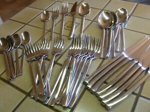 """J A HENCKELS """"OPUS"""" 18/10 STAINLESS STEEL FLATWARE CHOOSE YOUR PIECES"""