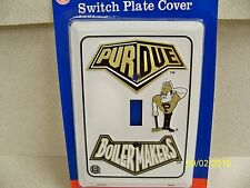 Purdue University Boilermakers NCAA footballl single light switch plate cover !!
