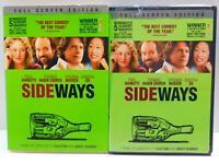 Sideways (DVD movie, 2005, Full Screen) Paul Giamatti, Thomas Haden Church
