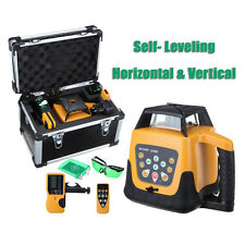 Automatic 500m Range Green Beam Self-leveling Rotary Laser Level Remote Control