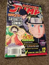 Shonen Jump Magazine Dec 2009 Vol 7 Issue 12 * Naruto Dbz Bleach Yugioh Manga