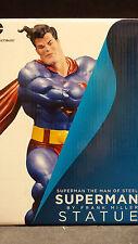 DARK KNIGHT RETURNS: SUPERMAN STATUE by FRANK MILLER (BATMAN) !!!