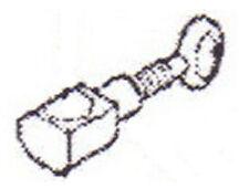 NEEDLE CLAMP W/ SCREW #83132 fits SINGER CE150, CE250, CE350, SES1000