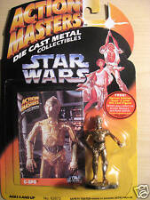 Action Masters Metal Collectible Star Wars C-3Po Figure 1994