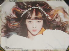 f(x) fx Electric Shock 2012 Taiwan Promo Poster (Sulli Ver.)