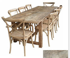 Rustic Oregon French Provincial Farm House Dining Table 184 long,refectory table