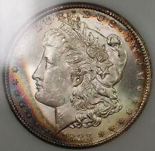 1883-CC Morgan Silver Dollar Coin, NGC MS-62 OGH