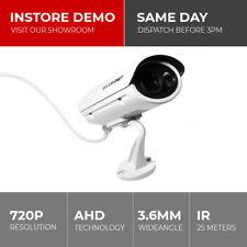 Securenet 720P 1MP 3.6mm AHD Home CCTV Security Bullet Camera Surveillance BNC